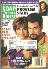 Soap Opera Digest Magazine October 26, 1993  Robert Kelker-Kelly and Lisa Rinna
