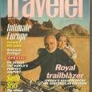 Conde Nast Traveler Magazine October 1994 King Hussein and Queen Noor on Cover