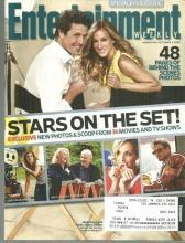 Entertainment Weekly Magazine October 9, 2009 Stars on the Set on the Cover