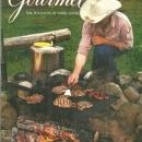 Gourmet Magazine October 1993 Dude Ranching in British Columbia on the Cover