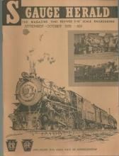S Gauge Herald Magazine September-October 1978 Long Island Railroad on Cover