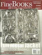 Fine Book and Collections Magazine November/December 2005 Silver Bindings Cover