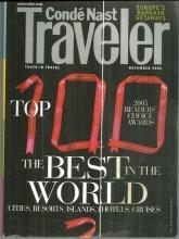 Conde Nast Traveler Magazine November 2005 The Top 100/Tanzania/Italy/Riga/Rio