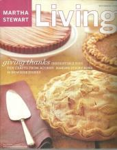 Martha Stewart Living November 2003 Giving Thanks Thankgiving in Wine Country