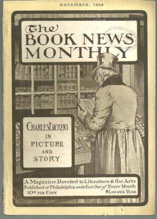 Book News Magazine November 1908 Novels of Charles Dickens