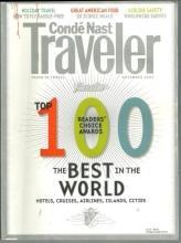 Conde Nast Traveler Magazine November 2007 The Top 100/Baltic Sea/Senegal
