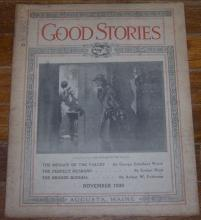 Good Stories Magazine November 1929 Vintage Fiction, Recipes, Household