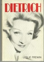Dietrich The Story of a Star by Leslie Frewin 1967 with Dust Jacket Illustrated
