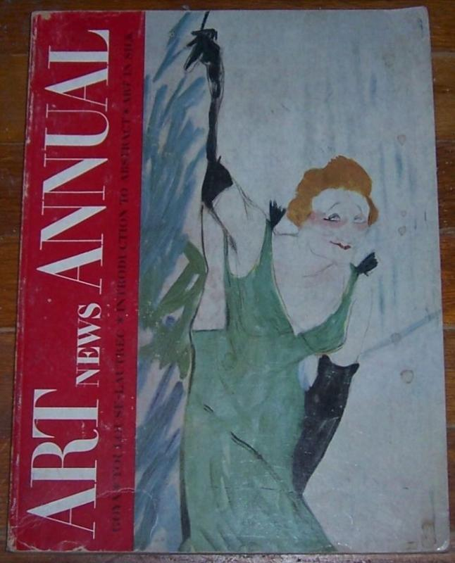 Art News Annual 1951 Goya, Toulouse-Lautrec, Abstract Art, Art in Silk
