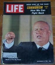 Life Magazine November 10, 1961 Khrushchev on cover Communism/Ethel Kennedy