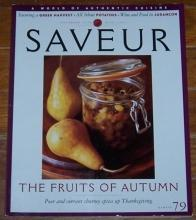 Saveur Magazine November 2004 The Fruits of Autumn/Thanksgiving/Pyrenees