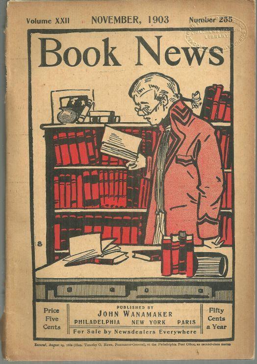 Book News Magazine November 1903 Edward Brooks/Reading for Children
