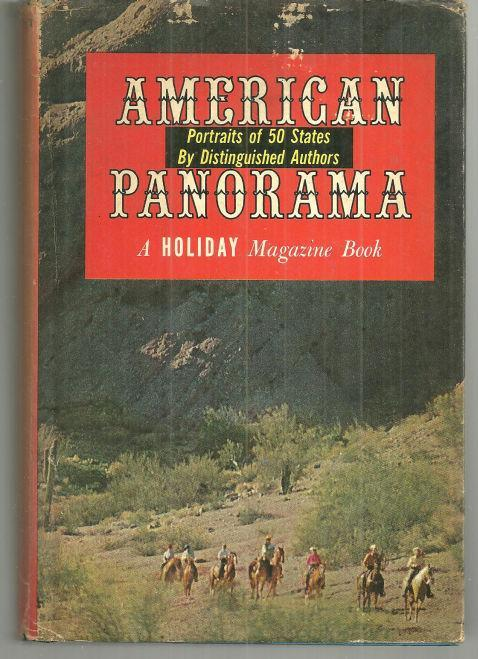 American Panorama Portraits of 50 States by Distinguished Authors 1960 w/DJ