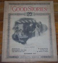 Good Stories Magazine November 1927 Vintage Fiction, Recipes, Household