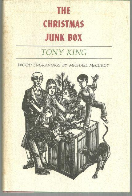 Christmas Junk Box by Tony King Illustrated by Michael McCurdy 1987 1st ed w/DJ