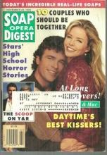 Soap Opera Digest Magazine November 23, 1993 Felicia and Mac From GH on Cover