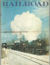 Railroad Magazine December 1978 Fifteen Photographs of Steamtown USA