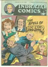 Indrajal Comics Spell of Horror No. 22 Vol. 4. January 20-26 1985 Times of India