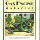 Gas Engine Magazine November 1990 Woodpecker Tractor on Cover