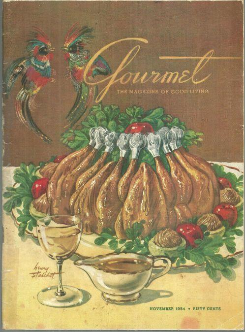 Gourmet Magazine November 1954  Feast or Famine in the South Seas/Fall Fashions