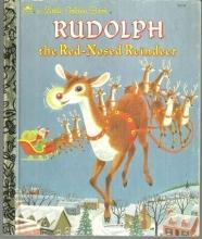 Rudolph The Red-Nosed Reindeer  Illustrated by Richard Scarry 1985 Little Golden