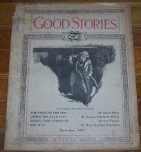 Good Stories Magazine November 1924 Vintage Fiction, Recipes, Household