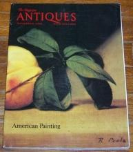 The Magazine Antiques November 1988 American Painting and Raphaelle Peale