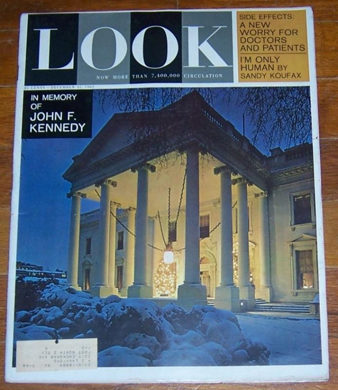 Look Magazine December 31, 1963 The Story of the Presidents at Christmastime