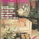 1001 Home Ideas Magazine November 1981 Lacquer Pieces by Baker on Cover