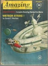 Amazing Stories Magazine November 1961 Meteor Strike by Donald Westlake