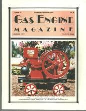 Gas Engine Magazine November/December 1984 2 HP Economy Engine on Cover