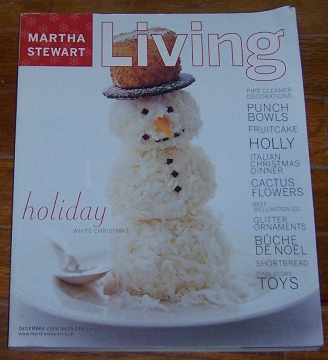 Martha Stewart Living December 2000 Traditional Italian Christmas Dinner