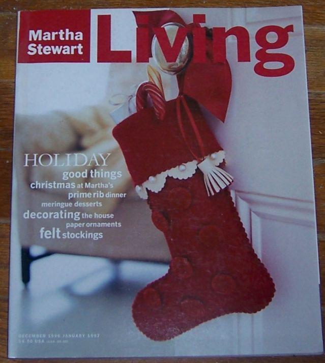 Martha Stewart Living December 1996/January 1997 Christmas at Martha's