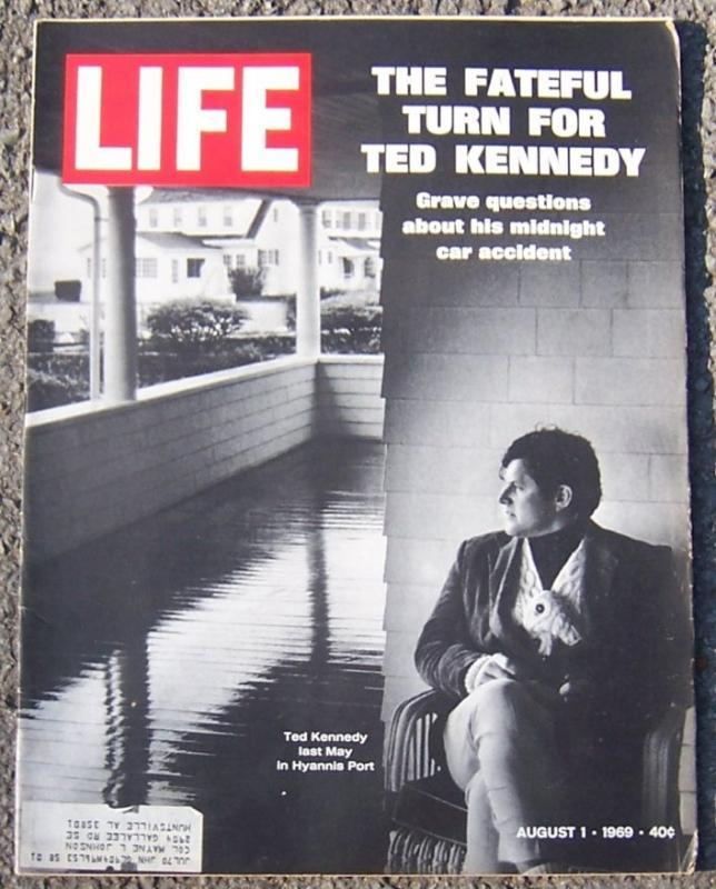 Life Magazine August 1, 1969 Ted Kennedy on Cover
