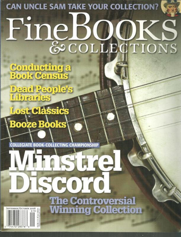 Fine Book and Collections Magazine September/October 2008 Maps