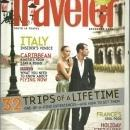 Conde Nast Traveler Magazine December 2008 32 Trips of a Lifetime on the Cover