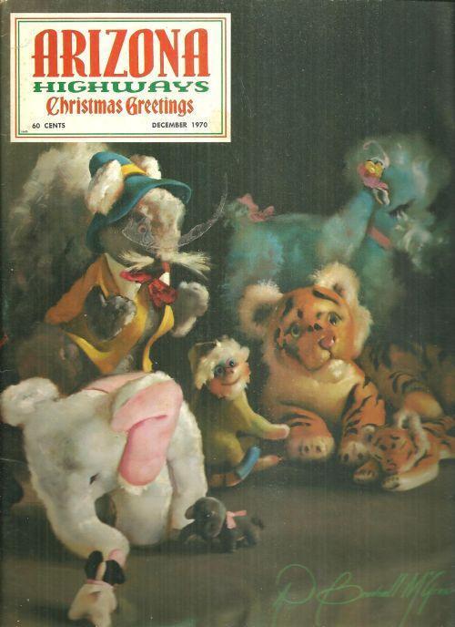 Arizona Highways Magazine December 1970 The Christmas Season on Canvas