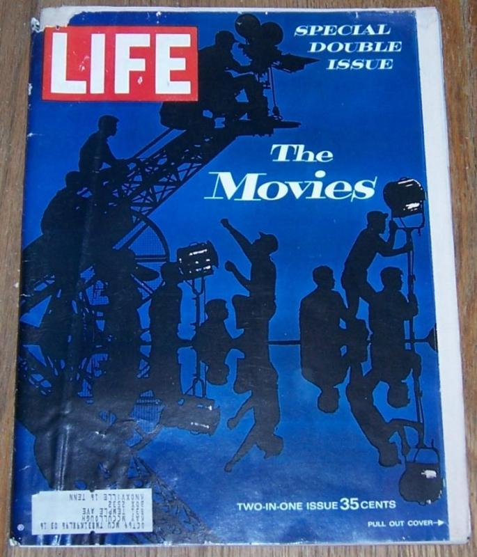 Life Magazine December 20, 1963 Special Double Issue The Movies On cover