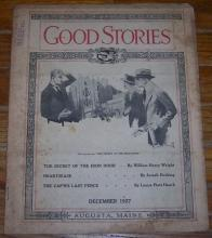 Good Stories Magazine December 1927 Vintage Fiction, Recipes, Household, Holiday