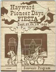 HAYWARD PIONEER DAYS FIESTA SOUVENIR PROGRAM 1946