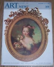 Art News Magazine December 15-31, 1942 French and English Art Treasures 18th Cen