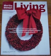 Martha Stewart Living December 1995/January 1996 Garlands and Ornaments