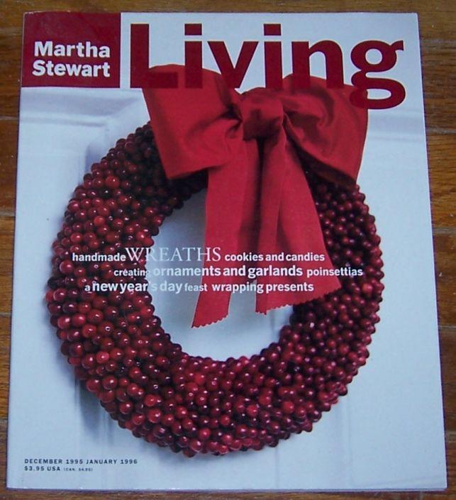 Martha Stewart Living December 1995/January 1996 Garlands and Ornaments