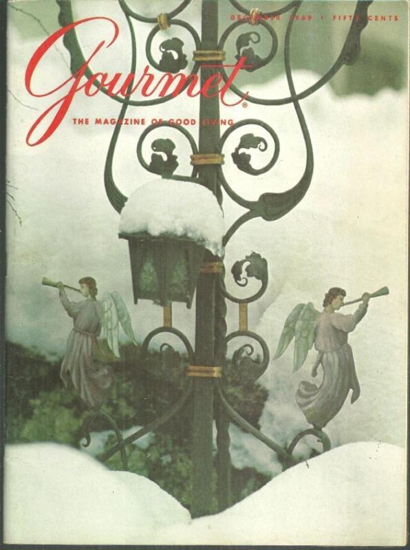 Gourmet Magazine December 1969 Christmas Revellion in the French Manner