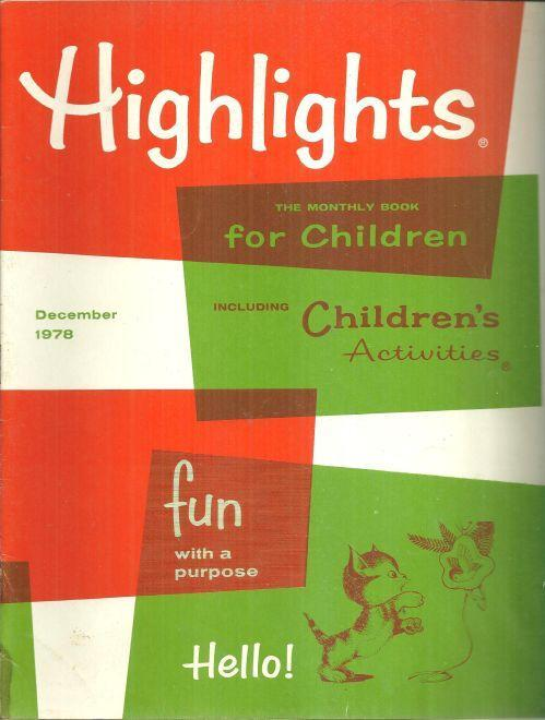 Highlights For Children Magazine December 1978 Story of the Three Kings