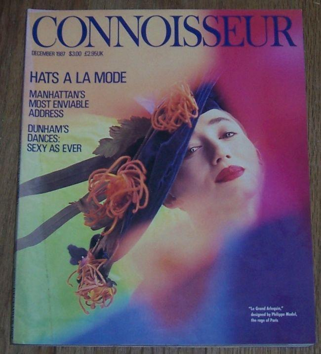 Connoisseur Magazine December 1987 Le Grand Arlequin Designed by Philippe Model