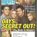 Soap Opera Digest Magazine December 6, 2005 Days Secret Out on the Cover