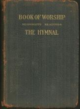Book of Worship for Reformed Church in the United States 1923 Hymn Book