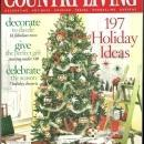 Country Living Magazine December 2005 The Holiday Issue Christmas Cottage