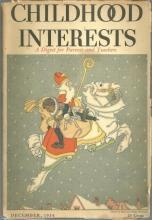 Childhood Interests Magazine December 1935 For Parents and Teachers Santa Claus
